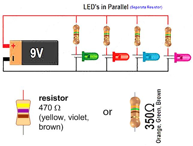 simple led circuit with 9v battery eric j forman teaching rh ericjformanteaching wordpress com