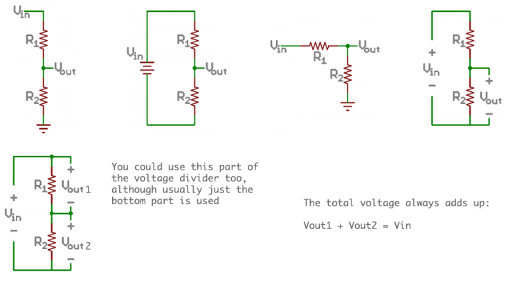 voltage divider addtl circuits