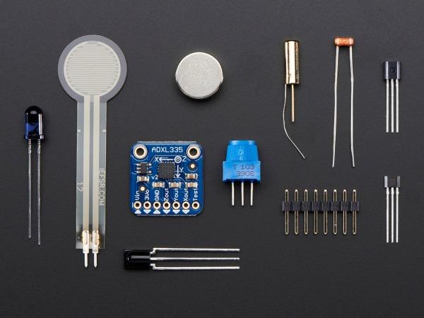 Adafruit sensor pack