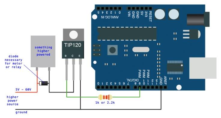 tip120-arduino